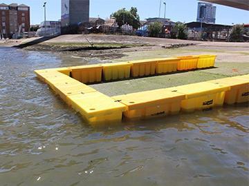 0,5m hohe Flood Block Mobiler Hochwasserschutz Barrieren