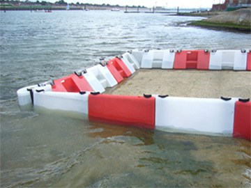 0,5m hohe Mobiler Hochwasserschutz System Floodstop