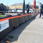 hochwasser schutz mobile hochwasser barrieren