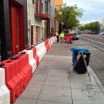 0,9 hohe Floodstop-barriere Hochwasser barrieren